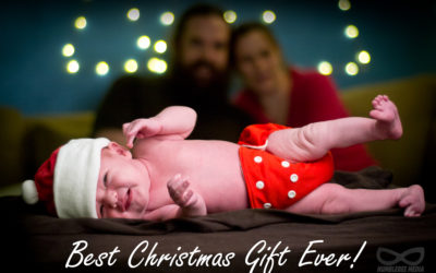 Best Christmas Gift Ever! Baby Announcement