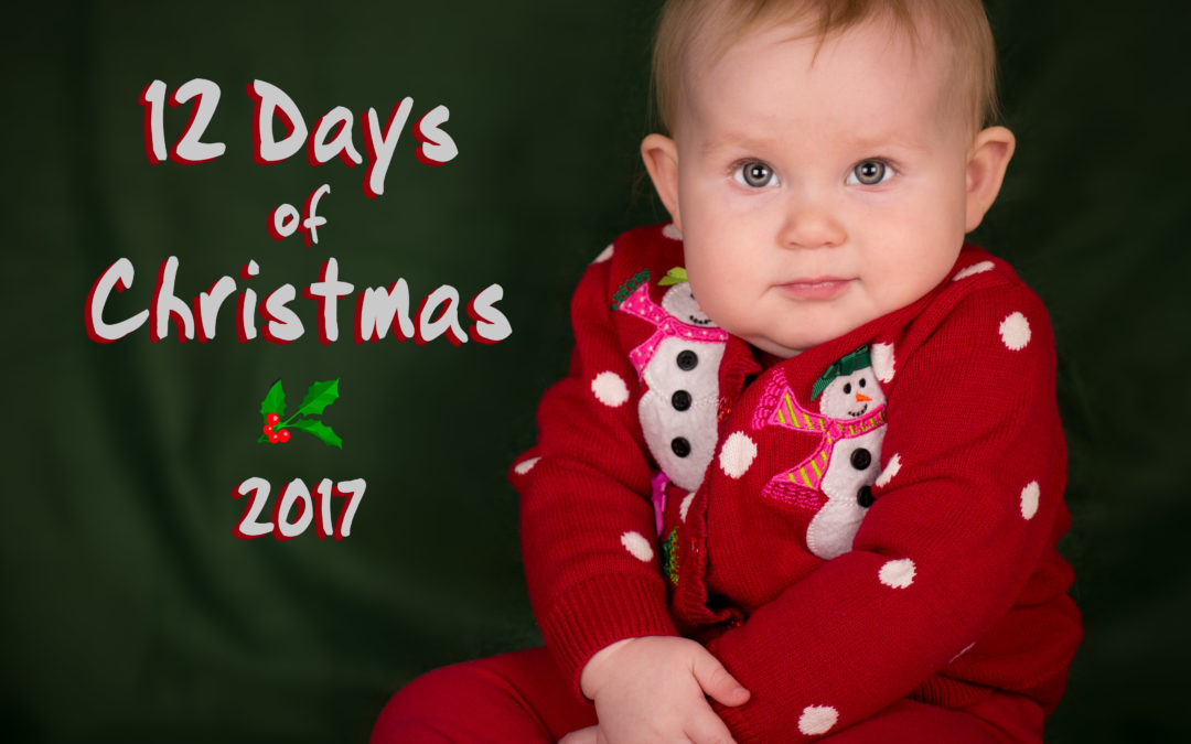 12 Days of Christmas Baby Photos