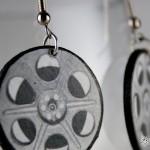 Film Reel Handmade Earrings – $14.99