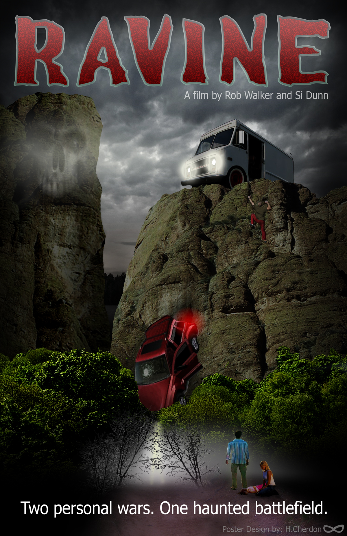 Ravine Movie Poster Design