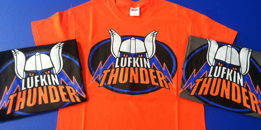 Lufkin Thunder Football Team Design & Marketing