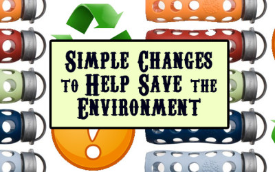 3 Simple Changes You Can Make that Will Help Save Our Environment