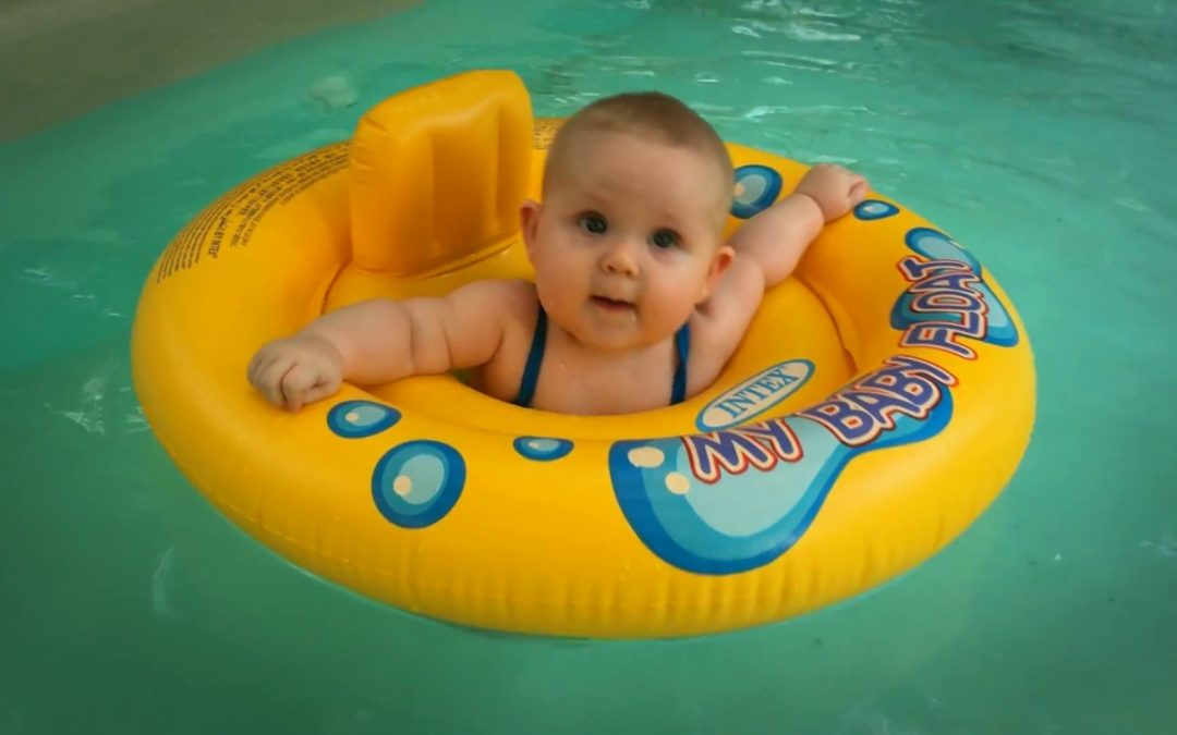Baby's First Summer at Austin's Best Pool for Babies