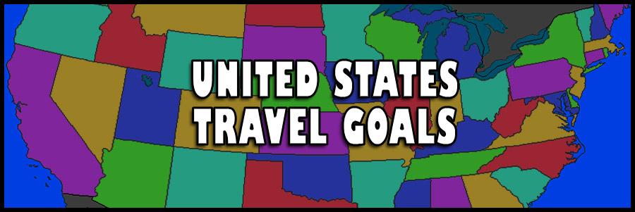 My US Travel Bucket List