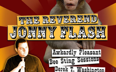 Music Event Flyer for The Reverend Jonny Flash