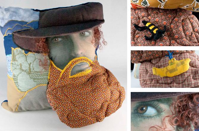 Handmade Pillow Pillowface