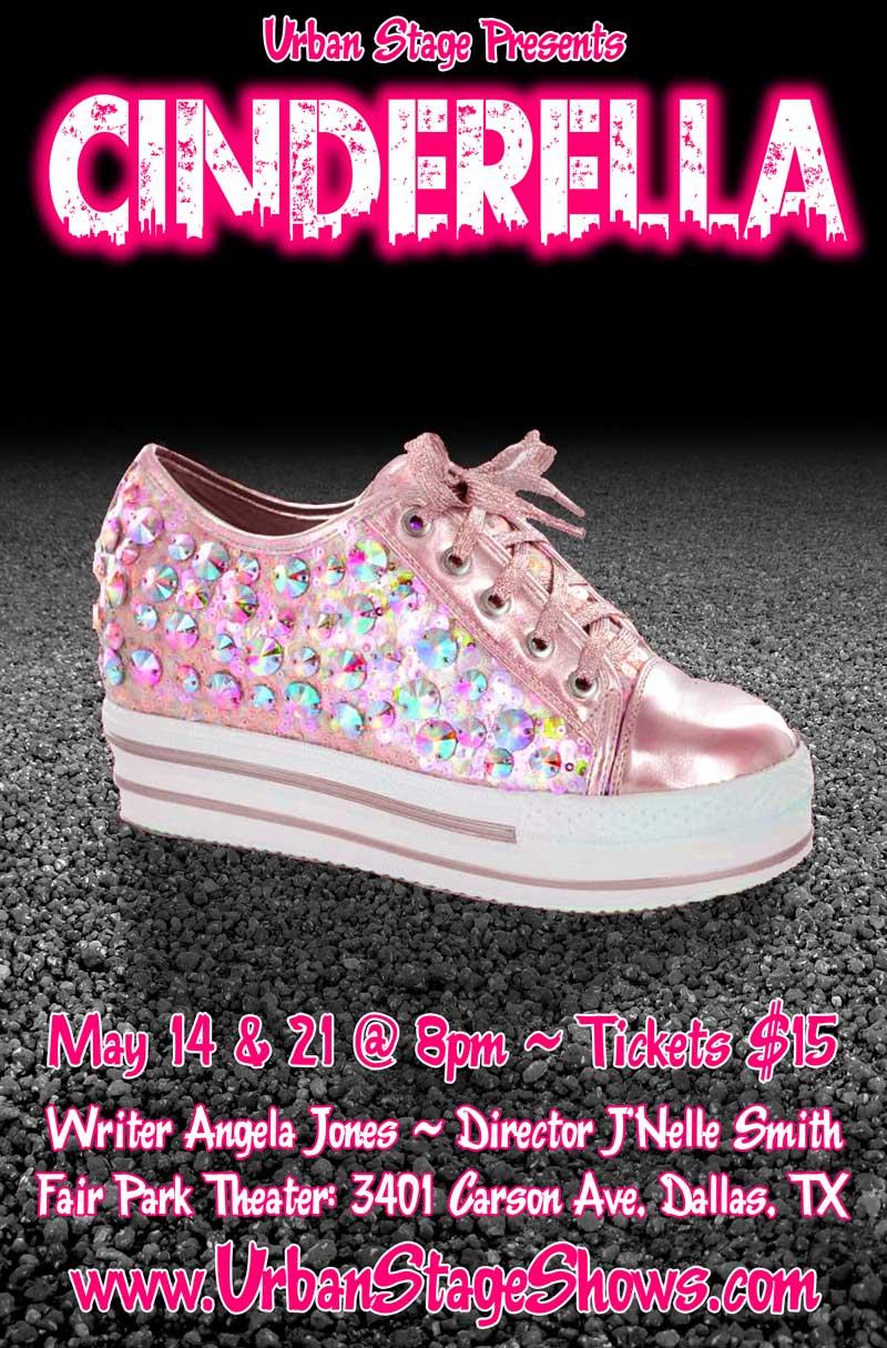 Cinderella Theatre Poster Design