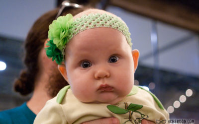 Ixchel Cherandon's First St. Patty's Day