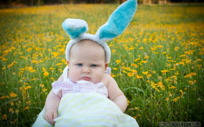 Meet the Grumpy Easter Bunny (Photo Shoot)