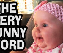 The VERY Funny Word Laughing Baby Video (Babycam)
